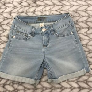 Girls light blue Jean shorts